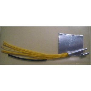Parts by Parks . PBP 1/24-1/25 Yellow Prewired Distributor w/Aluminum Coil and Spark plug boot Material