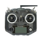 FrSky . FRS Frsky QX7 transmitter w/ M7 gimbals and battery - carbon colour