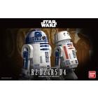Bandai . BAN 1/12 R2-D2 & R5-D4