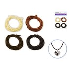 MultiCraft . MCI Jewlery Craft Cord 4 Assorted Natural Colours