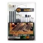 Hawk Importers Inc . HKI 15PC Assorted Painting Brush Set