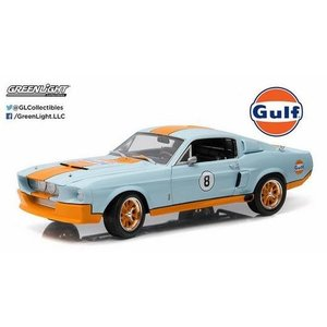 Green Light Collectibles . GNL 1/18 1967 Ford Mustang Coupe Gulf Oil