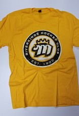 Gold Roundel Soft Tee<br /> S-XL