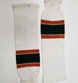 Green & White socks