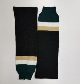 Black, White & Green socks