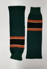 Green, Orange & Black socks