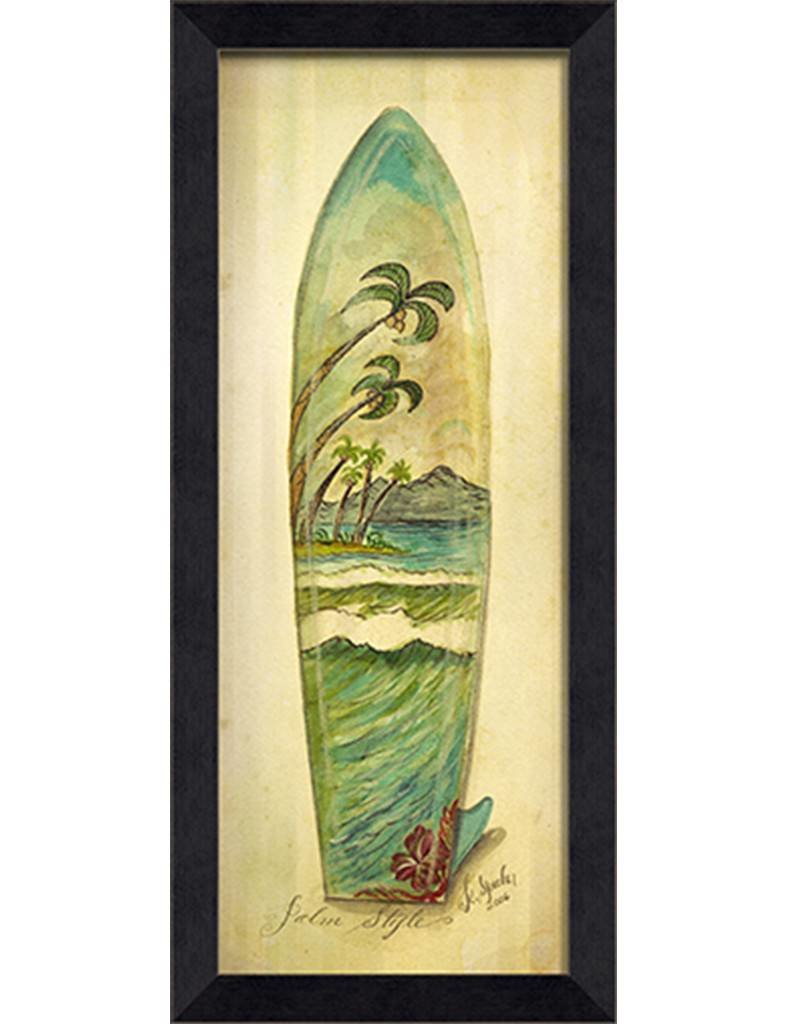 Exelent Surf Board Wall Art Motif - All About Wallart - adelgazare.info