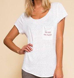 AS BY DF La Vie En Rose T-shirt