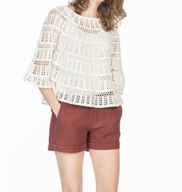 Leo and Sage Crochet Pullover