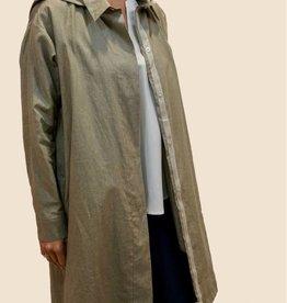 PRET POUR PARTIR Odyssee Pal Long Jacket Wax Linen
