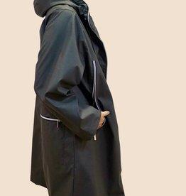 PRET POUR PARTIR Mina Full Length Zip Around Hood Rain Jacket