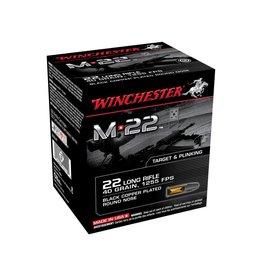 WINCHESTER Winchester Rimfire Ammo S22LRT8 M22 40Gr 1255 800. 2 boxes