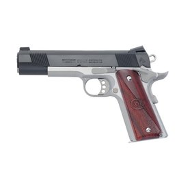Colt Colt XSE Combat Elite Semi Auto Pistol 45 ACP, 5 in, Wood Grp 8+1 Rnd, S/S Frame, 3-Hole Trgr