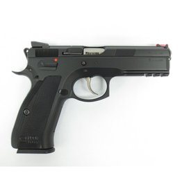 CZ CZ 75 SP-01 Shadow Line Semi-auto 4.5'', Black steel frame, black aluminum