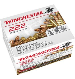 WINCHESTER Winchester  Rimfire Ammo 22 LR, CPHP, 36 Grains, 1280 fps 222 Rounds, Boxed
