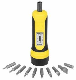 Wheeler 553556 Fat Wheeler 553556 Fat Wrench Racheting Screwdriver 10 Bits