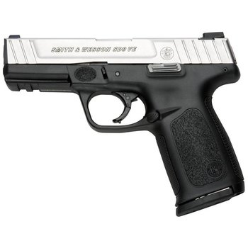 Smith & Wesson Smith & Wesson SD9 VE Semi Auto Pistol 9MM, 4.25 in, Poly Grp 10+1 Rnd, Wht Dot Front/2-Dot Fixed Rear, Self Defense Trgr