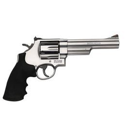 Smith & Wesson Smith & Wesson  Classic Revolver 44 MAG, 6.5 in, Syn Grp, 6 Rnd, Red Ramp Front & Adjustable Rear, Large S/S Frame