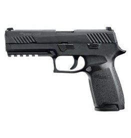 Sig Sauer Sig Sauer P320 Full Sz Semi Auto Pistol 45 ACP, 4.7 in Poly Grp, 10+1 Rnd, Full Sz Blk Frame, Striker Fired Trgr
