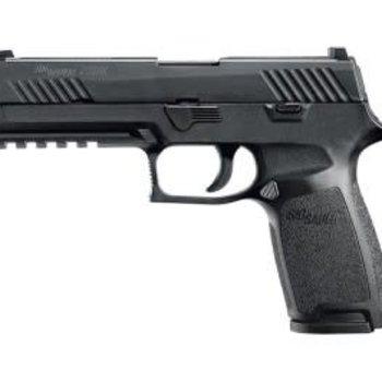 Sig Sauer Sig Sauer P320 Full Sz Semi Auto Pistol 45 ACP, 4.7 in Poly Grp, 10+1 Rnd, Full Sz Blk Frame, Striker Fired Trgr