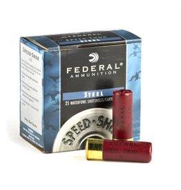 Federal Federal 3 Speed-Shok Waterfowl Shotshell 12 GA, 3 in No. 3, 1-1/8 oz, 4.56 Dr, 1550 fps, 25 Rnd per Box
