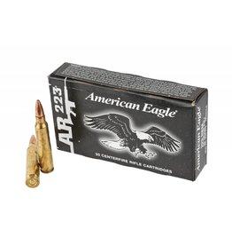 Federal Federal  American Eagle 223 rem Lake CIty MSR Ammo 223 REM/5.56 NATO FMJ-BT, 55 Grains, 3240 fps, 20 Ct Box W/O Divider