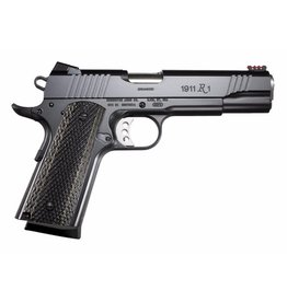 Remington Remington  1911 R1 Enhanced Semi Auto Pistol 9MM, 5 in, Wood Grp, 9+1 Rnd, Blk Frame, Target Trigger Trgr
