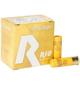 RIO 20GA 2 3/4IN 2 1/2DRAM 1250FPS 7/8OZ #9 SHOT