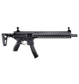 "Sig Sauer Sig Sauer  MPX Carbine Semi-Auto Rifle, 9MM, 16"" Bbl, Black, 5 Rnd, Collapsible Stock"