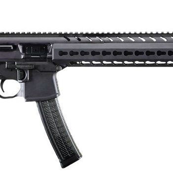 Sig Sauer Sig Sauer  MPX Carbine Semi-Auto Rifle, 9MM, 16'' Bbl, Black, 5 Rnd, Collapsible Stock