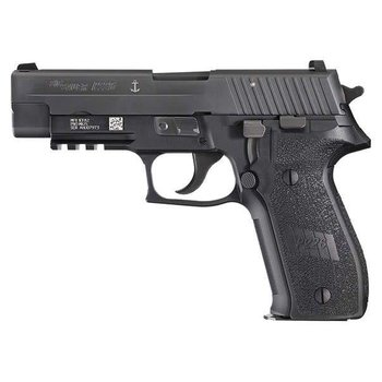 Sig Sauer Sig Sauer P226 MK-25 Semi Auto Pistol 9MM, 4.4 in, Poly Grp 10+1 Rnd, Fixed Night, Full Sz Blk Frame