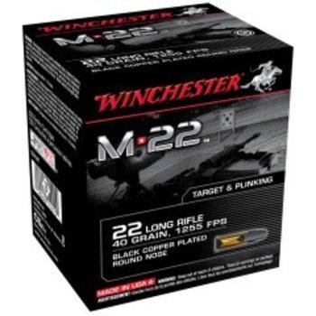 WINCHESTER Winchester Rimfire Ammo S22LRT8 M22 40Gr 1255 800. 2 boxes single
