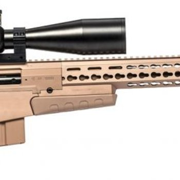 AI Accuracy International AX .300WM Rifle 26'' Plain threaded Folding Blk Tact Muz