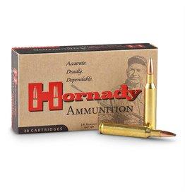 Hornady Hornady Custom Rifle Ammo 338 LAPUA, InterLock SP, 250 Grains 2900 fps, 20, Boxed