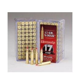 Hornady Hornady 17hmr Rimfire Varmint Express Ammo 17 HMR, V-Max, 17 Grains, 2550 fps, 50 Rounds, Boxed
