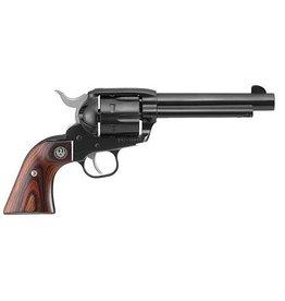 Ruger Ruger Vaquero Revolver 357 MAG 5.5 in, Hardwood Grp, 6 Rnd, Fixed Medium Blued Frame, Target Trgr