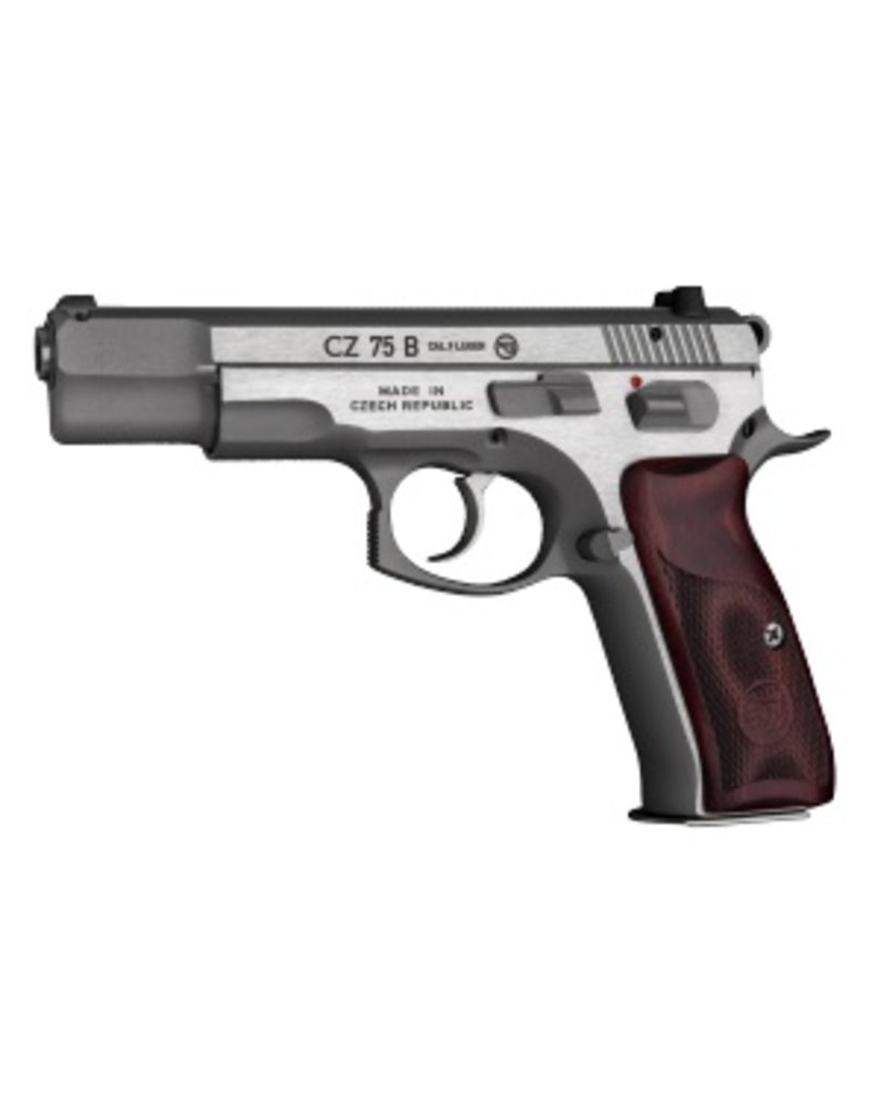 CZ CZ 75 S.S. Semi-Auto Pistol, 9MM, 4.5\'\'Bbl, New Edition S.S.Frame ...