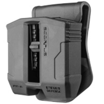 Fab Defense Double Magazine Pouch for 9mm Steel Mags (P&B)