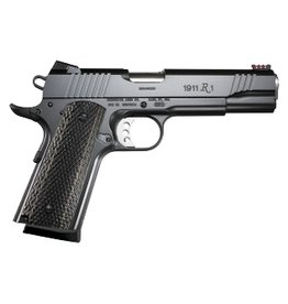 Remington Remington 1911 Semi Auto Pistol 45 ACP, 4.25 in, Wood Grp 8+1 Rnd, Blk Frame, Skeletonized Trgr