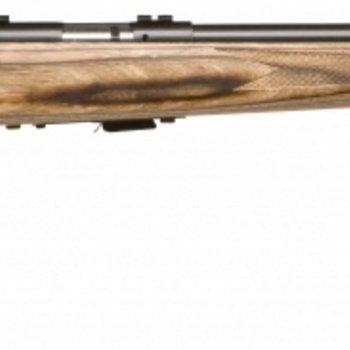 Savage Savage Mark II Bolt Rifle 22 LR, RH, 21 in 10+1 Rnd, Accu-Trigger BV Satin Blued Wood