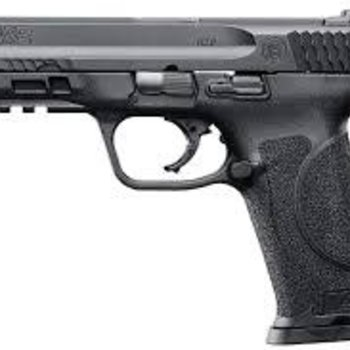 Smith & Wesson Smith & Wesson M&P M2.0 Semi-Auto Pistol, 4.25'' Bbl Black, Polymer Grip, 10+1 Rnd, 2 Mags, White Two Dot Rear Sight, Striker Fire 9 mm