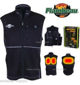 Flambeau F100-ML Heated Vest Black