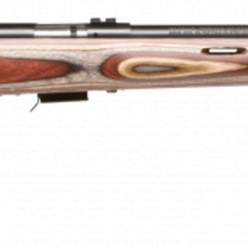 Savage Savage Bolt Rifle 17 HMR, RH, 21 in, 5+1 Rnd, Accu-Trigger Stainless Steel Wood