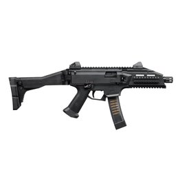 "CZ CZ  Scorpion Evo 3 S1 Semi-Auto Tactical Pistol 9MM 7"" Bbl,5 Rnd, Low Profile Sight Black"