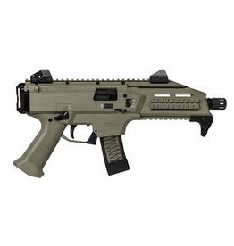 "CZ CZ  Scorpion Evo 3 S1 Semi-Auto Tactical Pistol 9MM 7"" Bbl,5 Rnd, Low Profile Sight FDE"