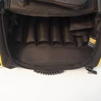 Guga Ribas Guga Ribas FDS Back Pack Black with Yellow Trim