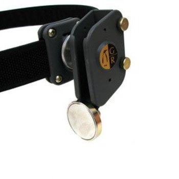 Guga Ribas Guga Ribas Magnetic Pouch,belt hanger Black