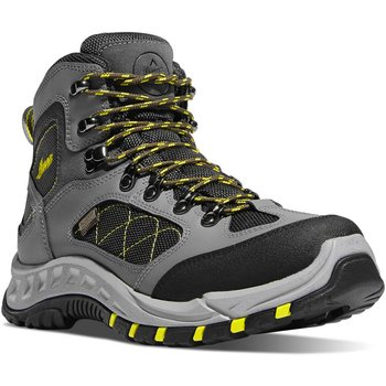 Danner size11 TrailTrek 4.5'' Gray/Yellow 11