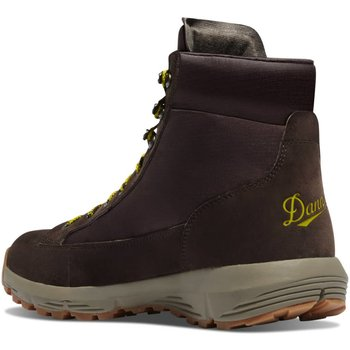 Danner Explorer size9 650 6'' Dark Brown/Lime Green 9