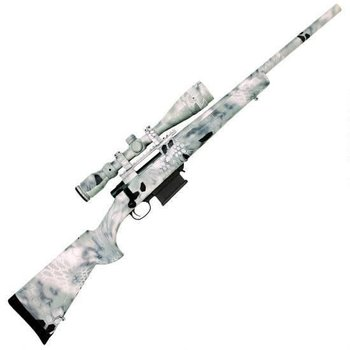 HOWA Legacy Howa  308win Full Dip Package Bolt Action Rifle RH, 20 in, Syn Stk, 5+1 Rnd, HACT Two Stage Trgr 308WIN